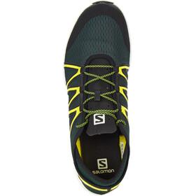 Salomon Ms' Crossamphibian Swift Shoes Darkest Spruce/Black/Sulphur Spring